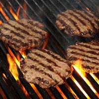 Hand Crafted Burgers - Charbroiled - A Perfect 1/2 LB